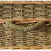 "18"" Infant Woven Seagrass Caskets - Includes Personalized Bamboo Plaque - Ground Shipping Included"
