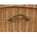 Pet Willow Casket - Includes Personalized Bamboo Plaque - Ground Shipping Included